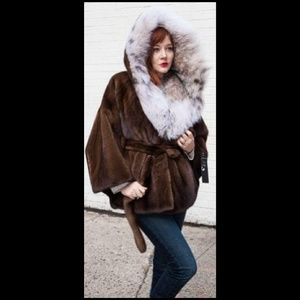 a211e98d85 Marc Kaufman Furs Not for Sale · SOLD Demi Mink Fur Cape Canadian ...